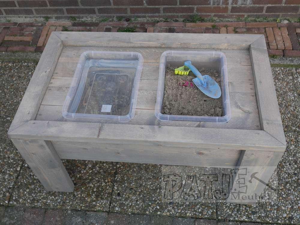 Zand Water Tafel : Zand en water tafel jip