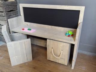 Steigerhout kindertafel maken